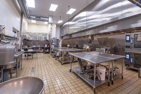 Pressed Cafe Kitchen Interior